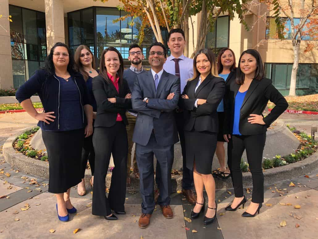 Legal Team at the Ranchod Law Group