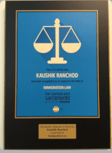 Kaushik Ranchod, Immigration Law, Top Lawyers 2015 - Sacramento Magazine sacmag.com